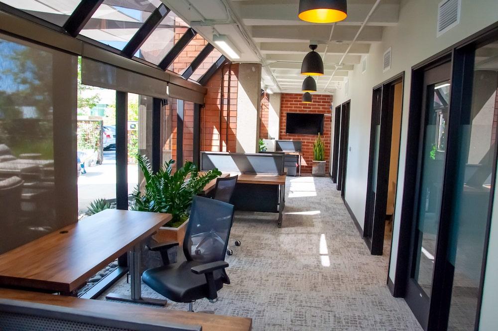 TSG Wealth Management Irvine Hallway Desks