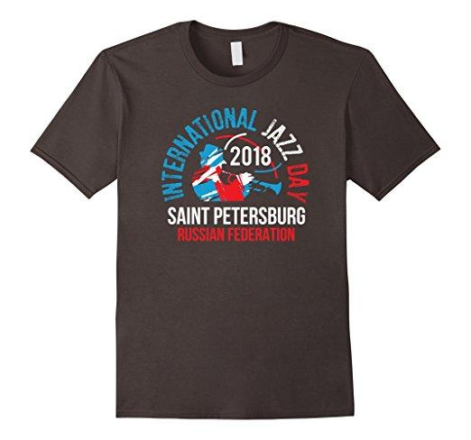 International Jazz Day St Petersburg, Russia T-shirt