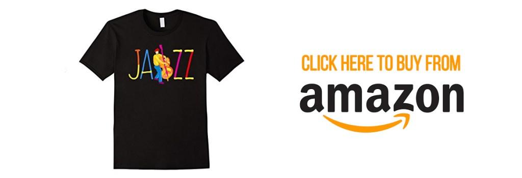 Jazz Bass Musician T-shirt