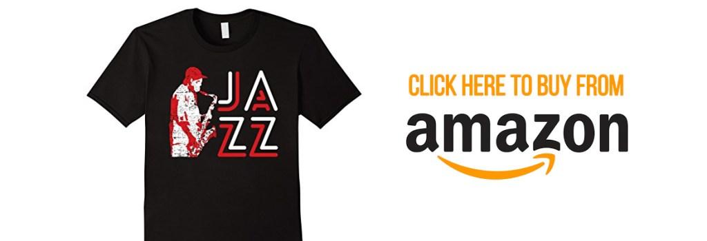 Jazz Saxophone Musician T-shirt