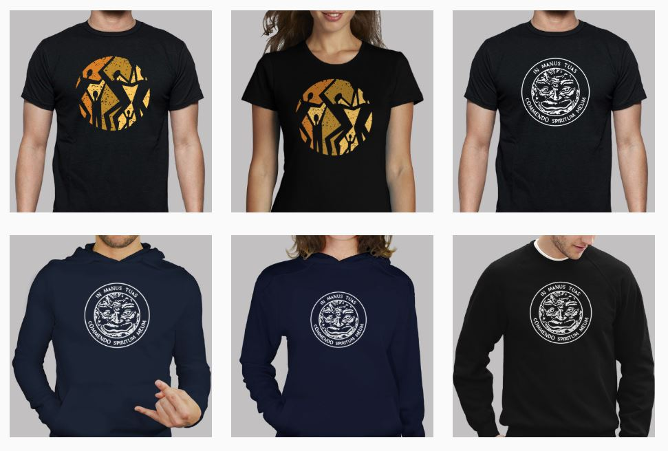 Medieval Gothic Ancient Style T-shirts