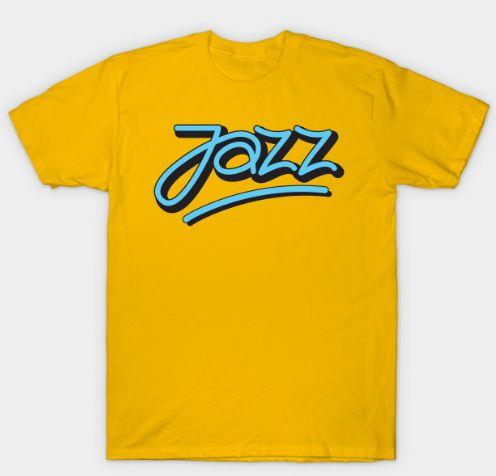 Jazz Logotype Signature Style T-Shirt