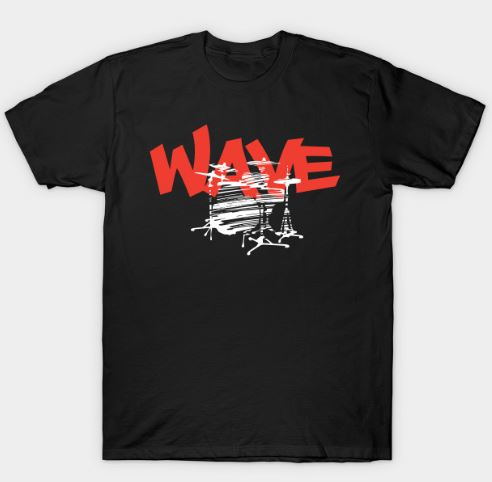 Wave - Creative Drums Concept T-Shirt