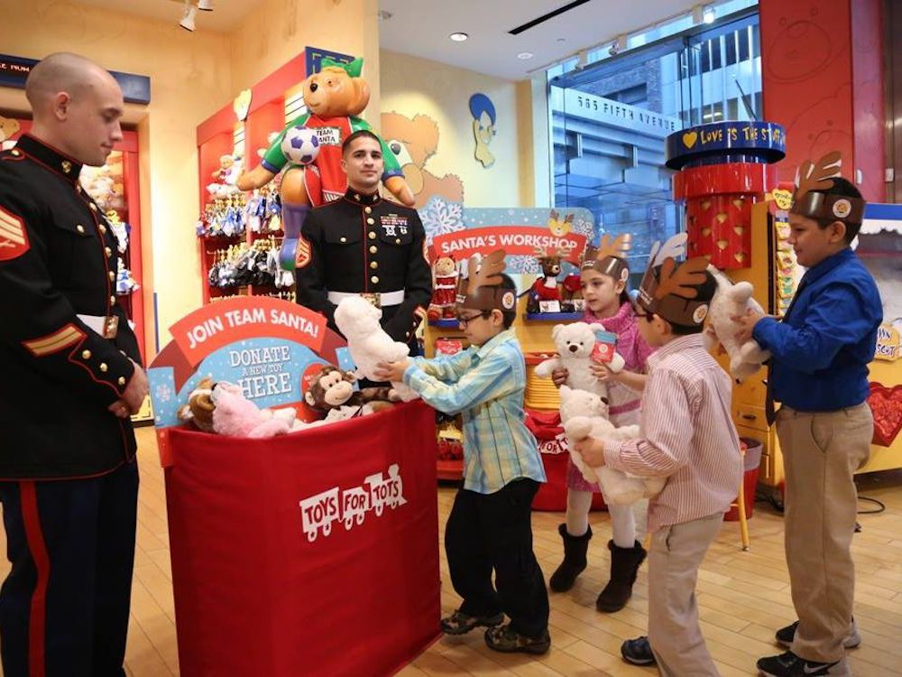 Donating-a-toy-is-one-of-the-best-Christmas-outdoor-activities-to-spread-joy
