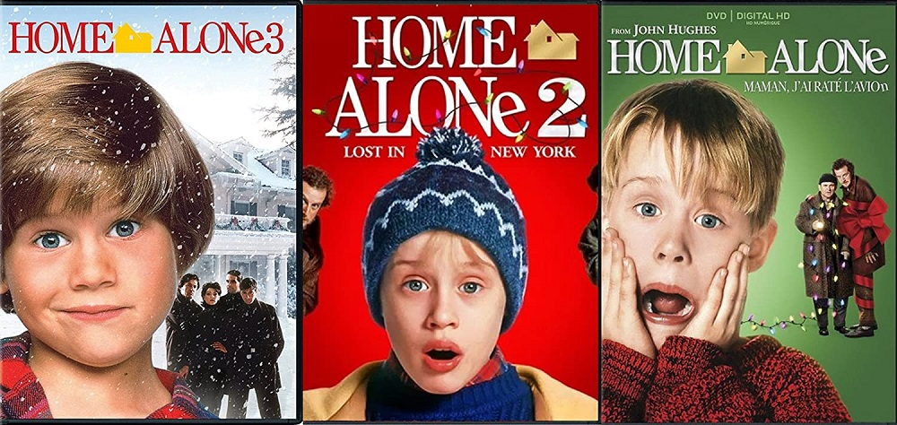 Home alone - best chirstmas movies for kids
