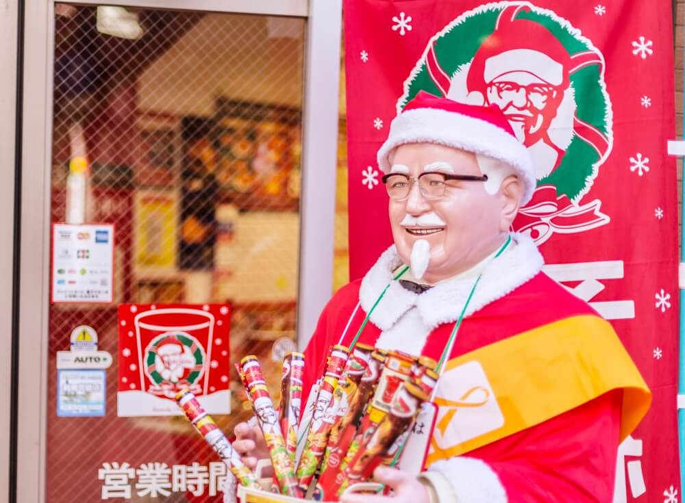 KFC-is-an-indispensable-food-on-Christmas-traditions-in-Japan