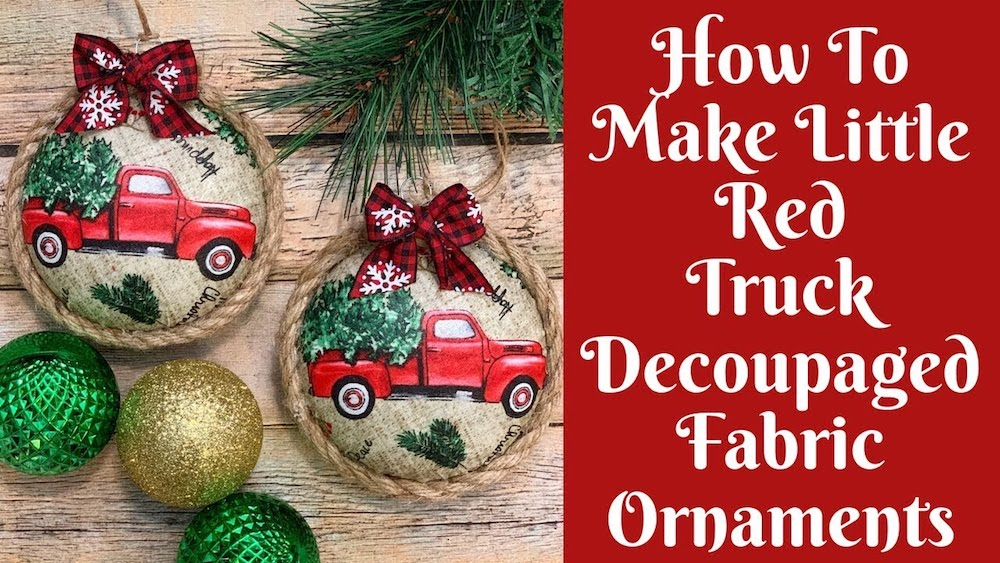 Why not try making some DIY Christmas ornaments yourself? It will be great.