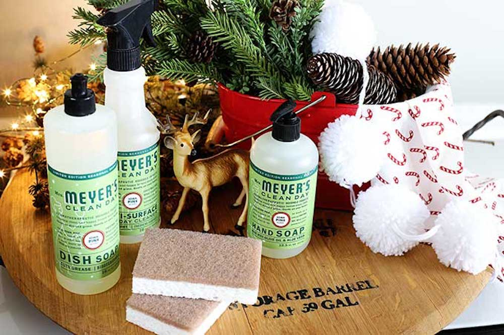 dish soap- One of the easy and fun DIY Christmas gifts