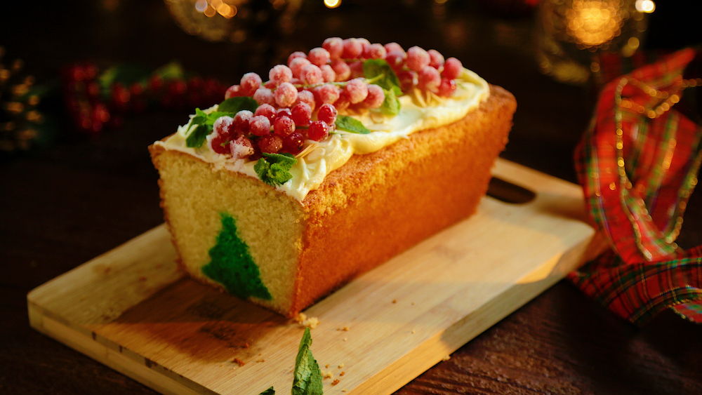 The Christmas Tree is listed as one of great Christmas cake recipes