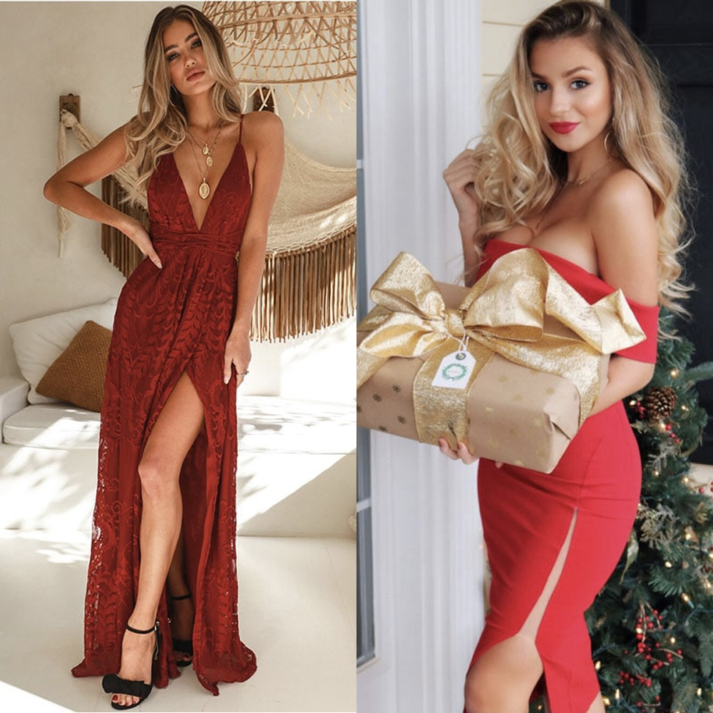 Bright as a flower with gorgeous Christmas outfits