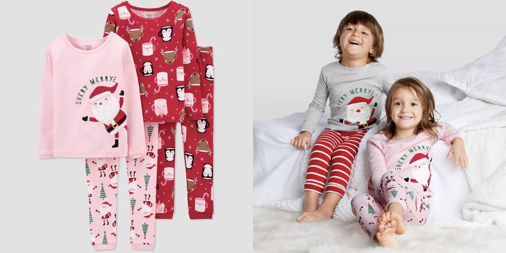 Santa-Pajama-Set-is-one-of-the-wonderful-Christmas-pajamas-toddler-girl
