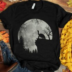 Turtle Shirt Turtle Howling Forest Moon