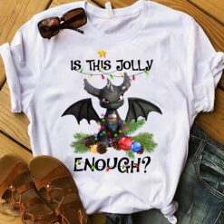 Christmas Dragon Shirt Is This Jolly Enough