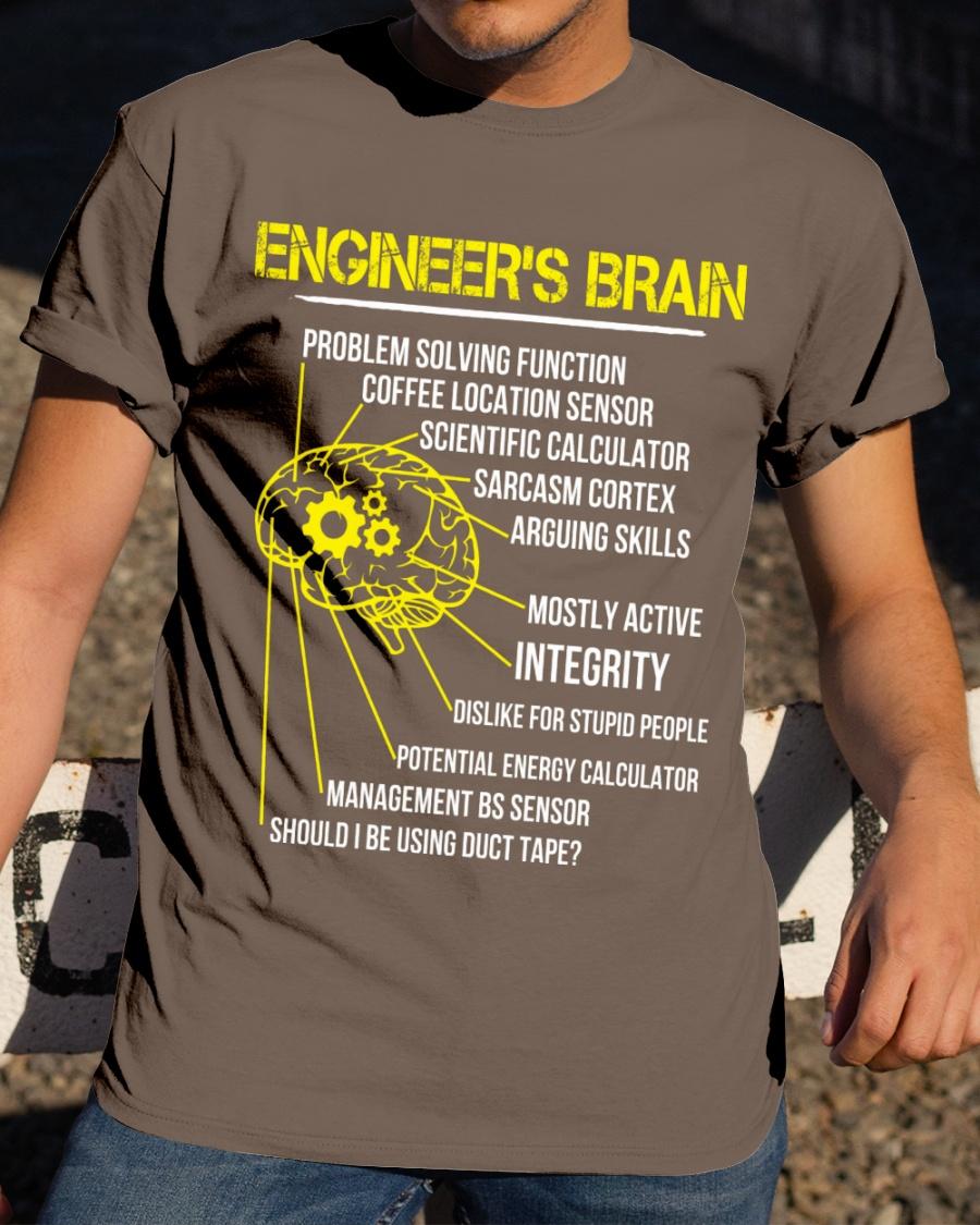 Engineer Shirt Engineer Brain Problem Solving Function