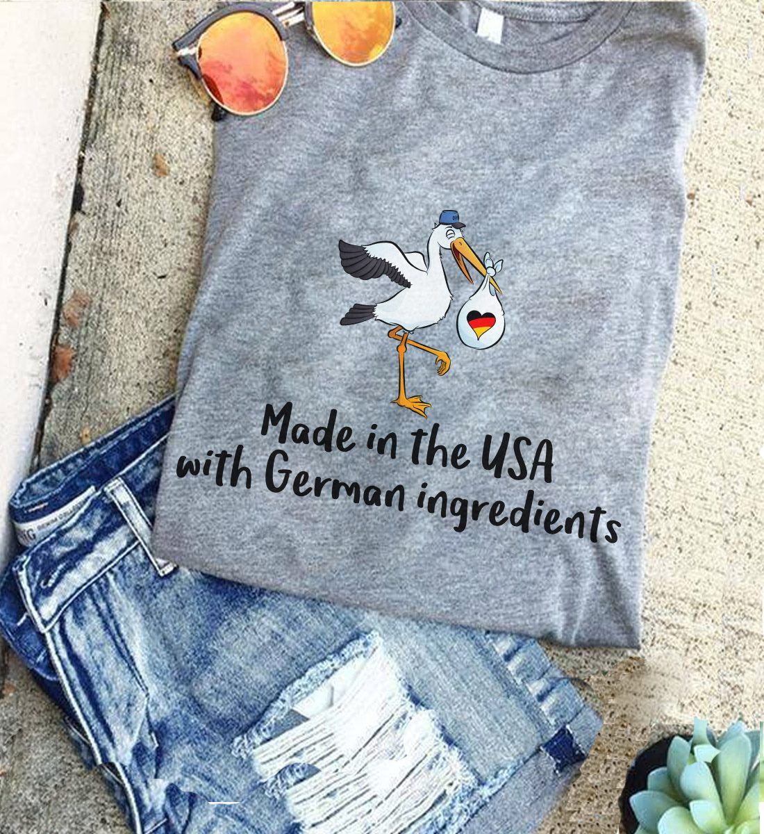 German Shirt Made In The USA With German Ingredients