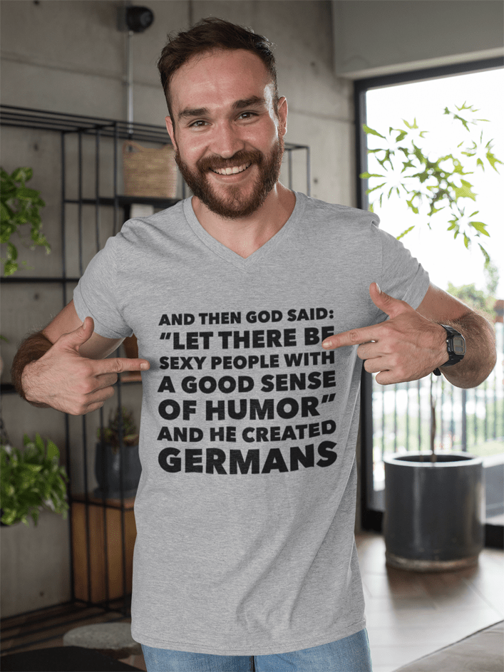 German Shirt Sexy People With A Good Sense Of Humor Germans