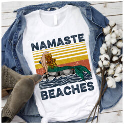 Vintage Namaste Shirt Little Mermaid Beaches