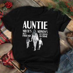 Auntie Shirt Niece's Best Friend Nephew's Best Partner