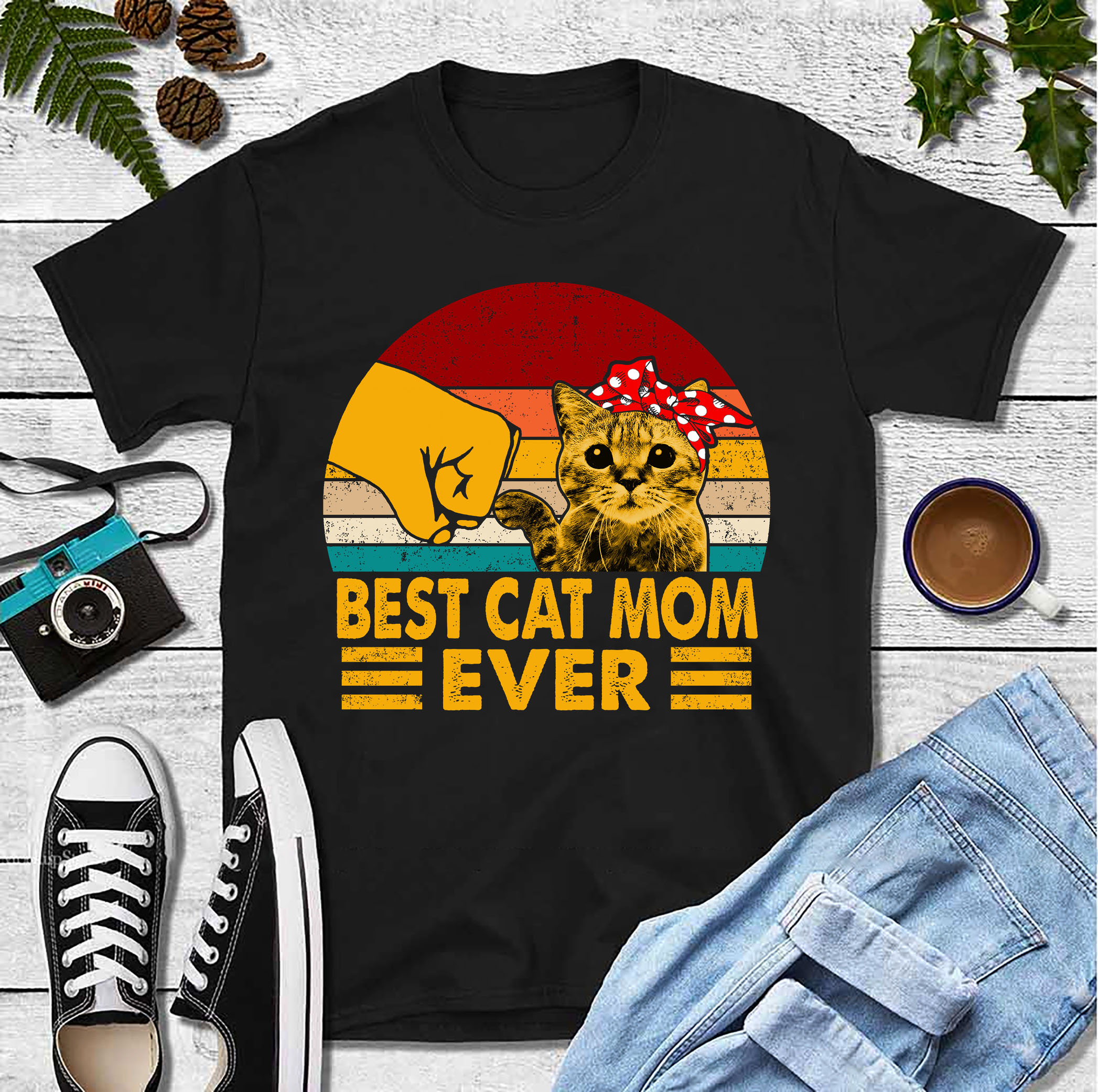 Best Cat Mom Ever Shirt