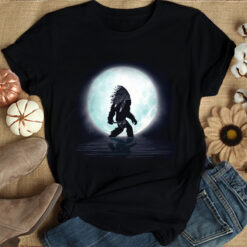 Bigfoot Shirt Bigfoot Under The Moon