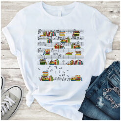 Book Shirt Books Music Notes