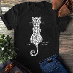 Cat Shirt Four Leaf Clover Cat
