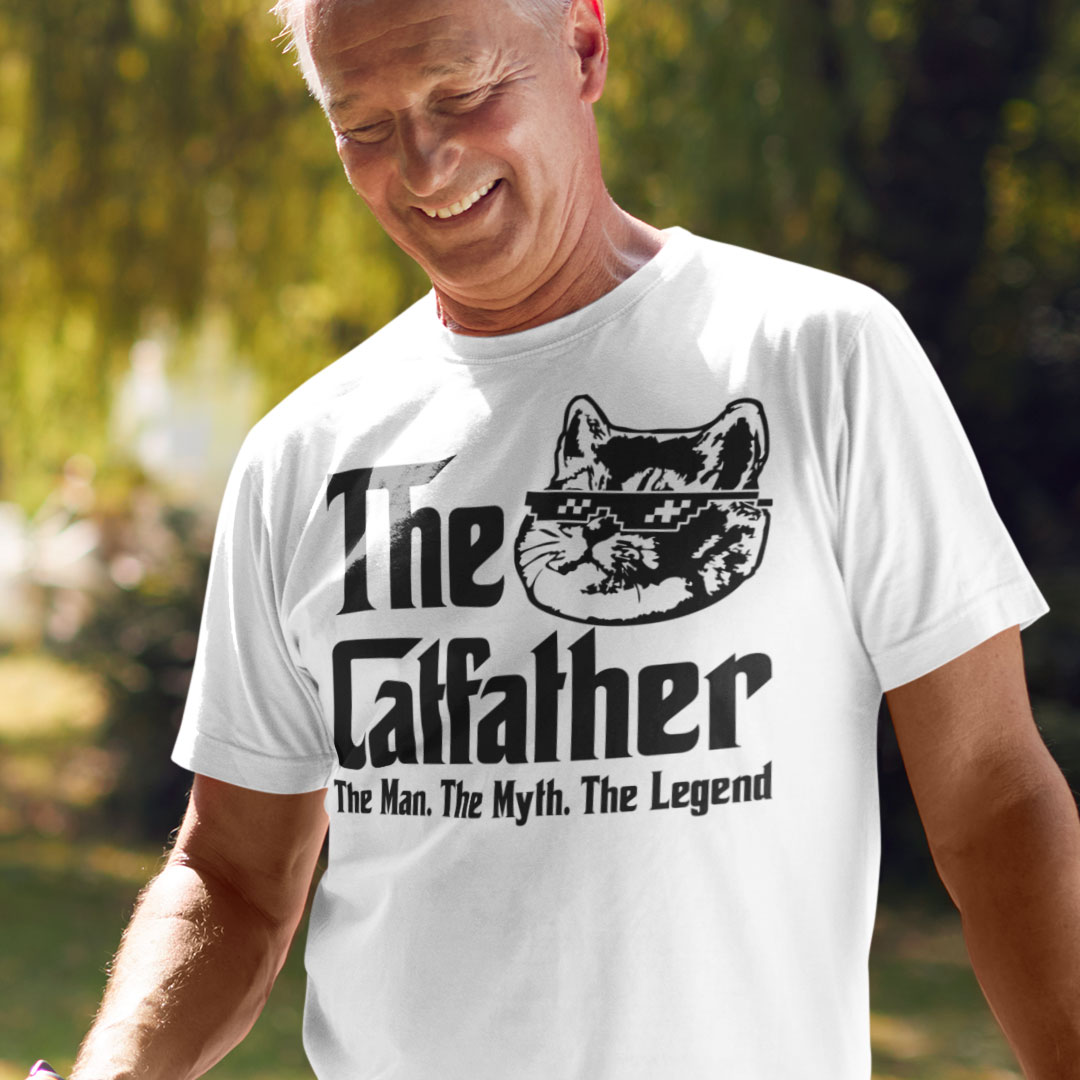Catfather T Shirt The Men The Myth The Legend