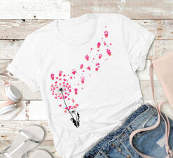Dandelion Garden Shirt Heart Flower