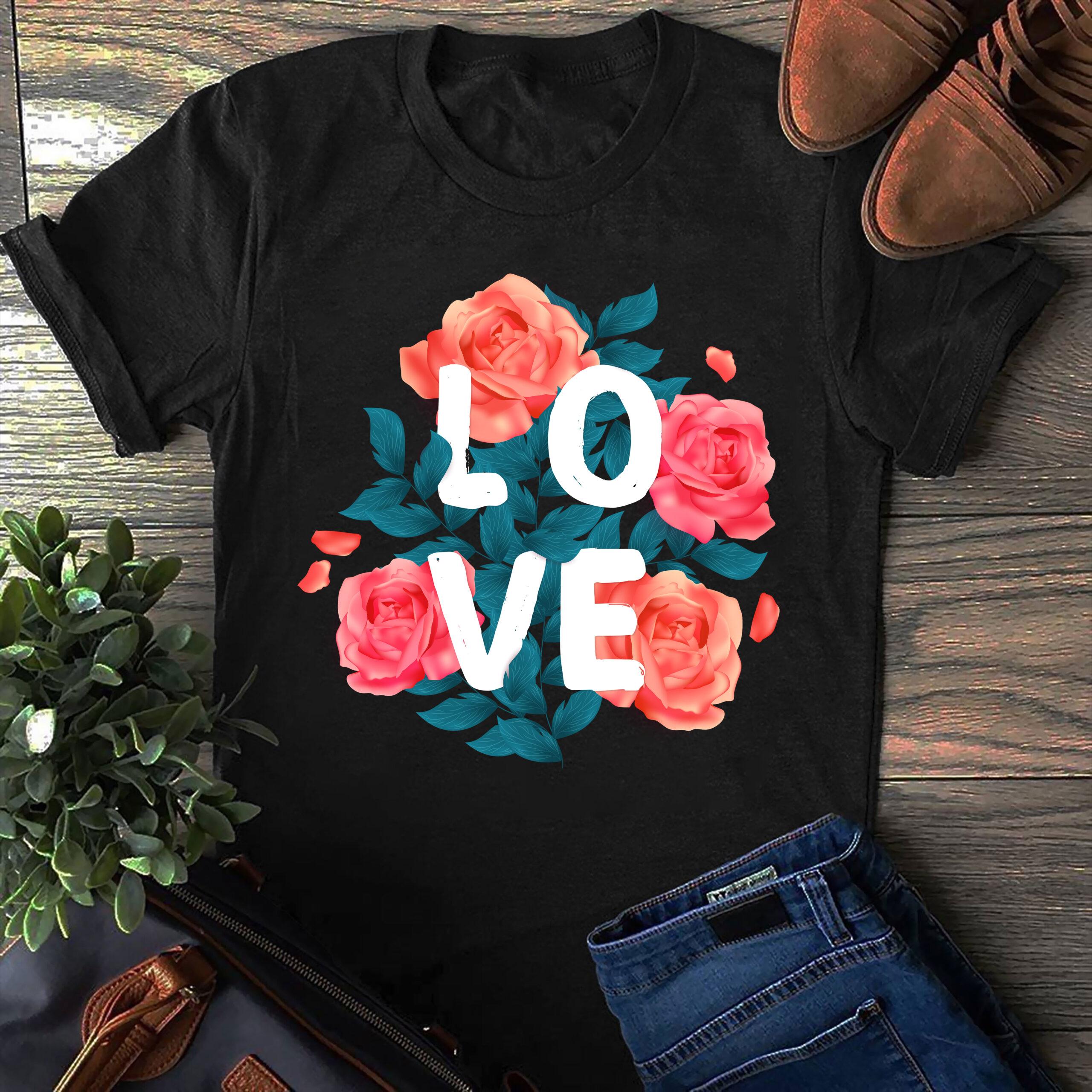 Flower Shirt Love