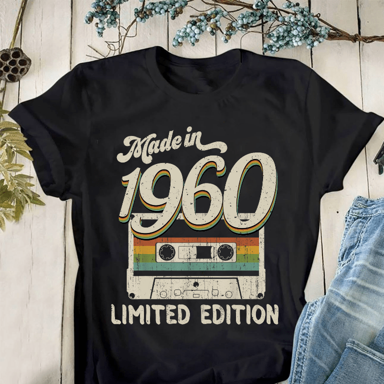 Made In 1960 Shirt Limited Edition