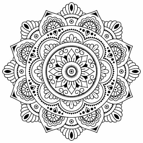 Mandala-yoga-symbol-