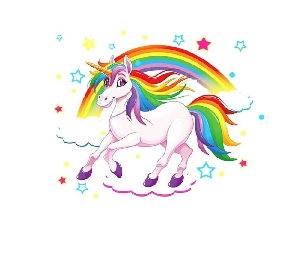 Rainbow-unicorn-types-of-unicorns