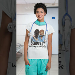 Scrub Life Shirt Lesbian Nurse With My Scrub Wife