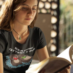 Sea-Otter-Book-Shirt-Reading-Is-Otterly-Fun-Video-Promotion