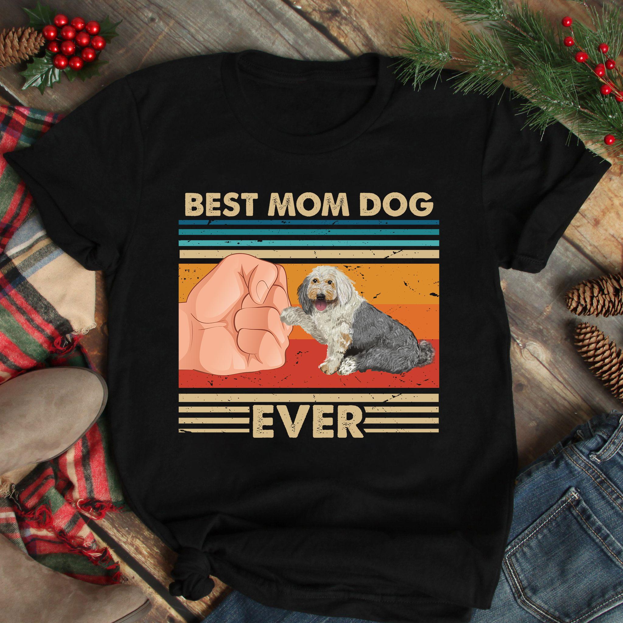 Vintage Best Mom Ever Shirt Best Old English Sheepdog Mom Ever