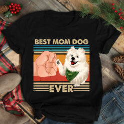 Vintage Best Mom Ever Shirt Best Samoyed Mom Ever