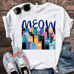 Cat Breeds Meow Shirt