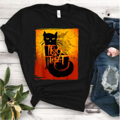Cat Trick Or Treat Shirt Halloween Gift