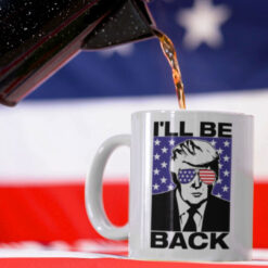 Donald-Trump-I'll-Be-Back-Mug-American-Flag-Promotion