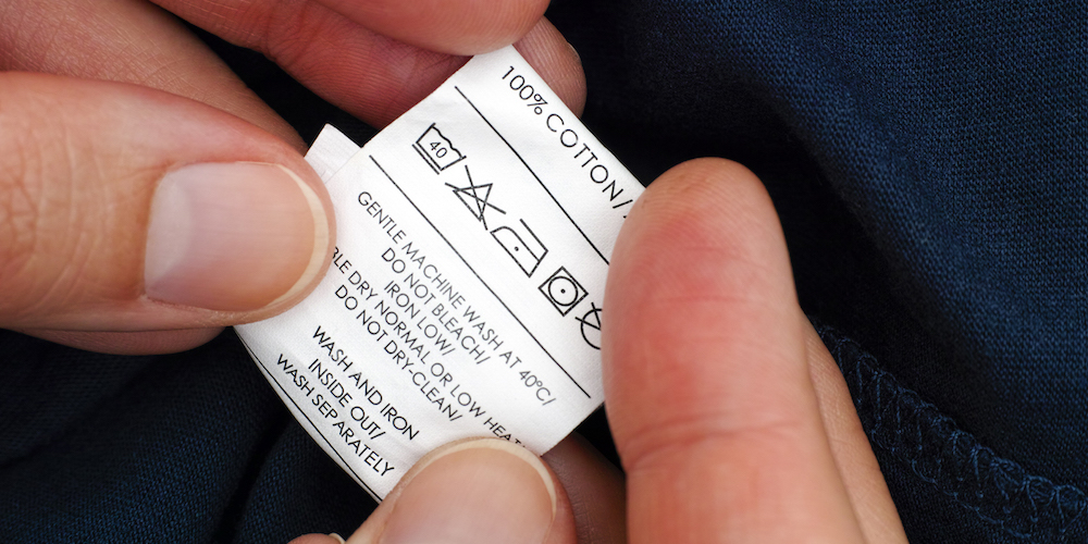 How to shrink a t shirt- Check label first before shrinking
