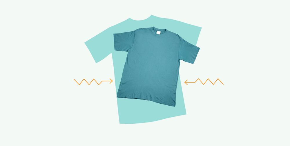 How to shrink a t shirt quickly