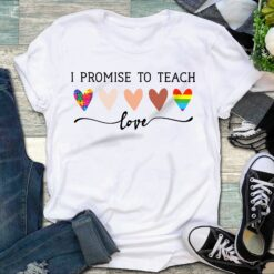 LGBT I Promise To Teach Love Shirt