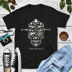 Skull National Park Service Shirt