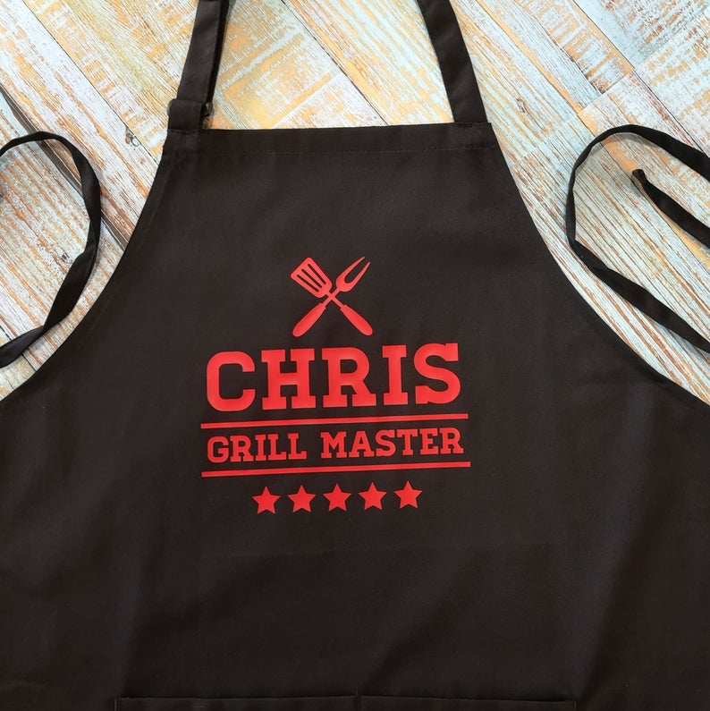 Custom-BBQ-Apron-personalized-gift-ideas-for-Fathers-Day