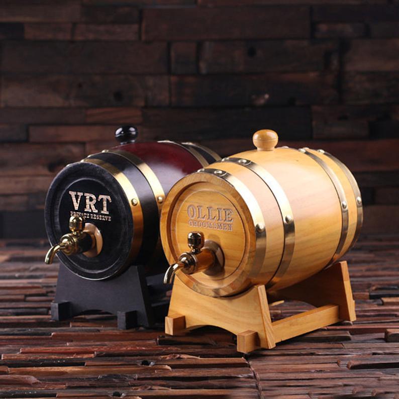 Engraved-Whiskey-Barrel-Best-man-gift
