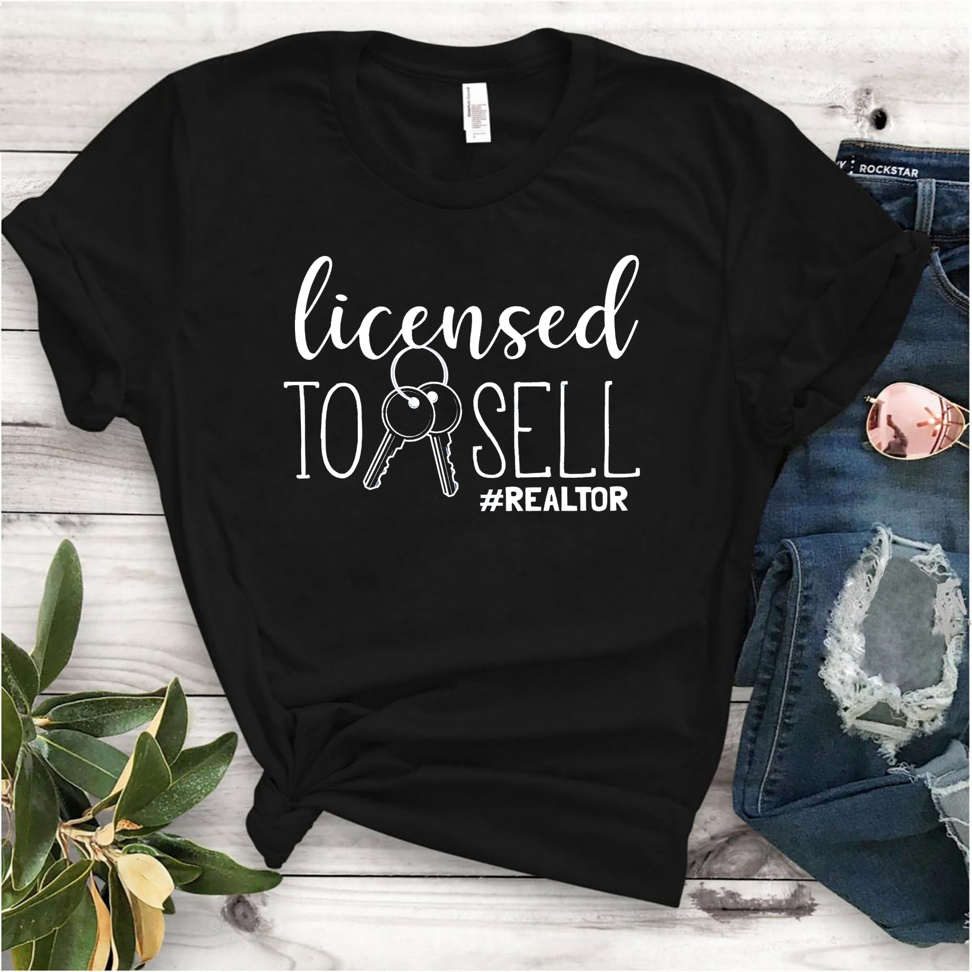 Funny Licensed To Sell Realtor Shirt