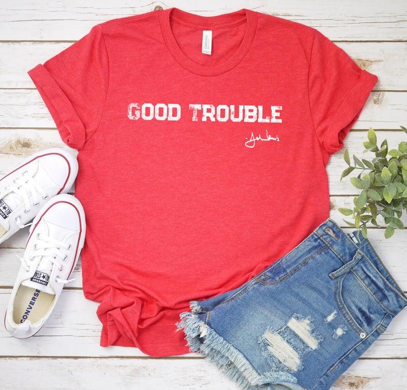 Good Trouble T Shirt John Lewis Signature