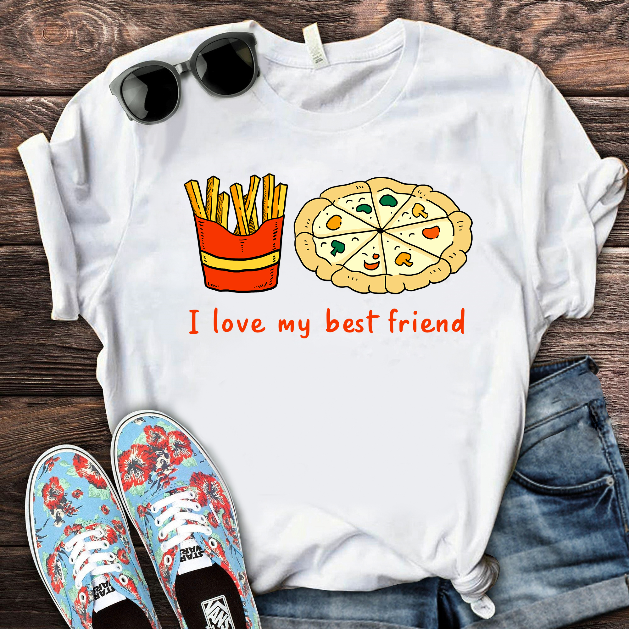 I Love My Best Friend Shirt