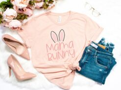Mama Bunny Shirt Happy Easter Day