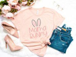 Mama Bunny Shirt Happy Easter Day